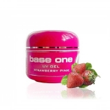 Gel Base One 3 in 1 Clear aroma Strawberry pink 50g