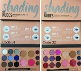 Paleta fard The Nudes  1