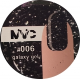 Gel color sclipici Galaxy 006