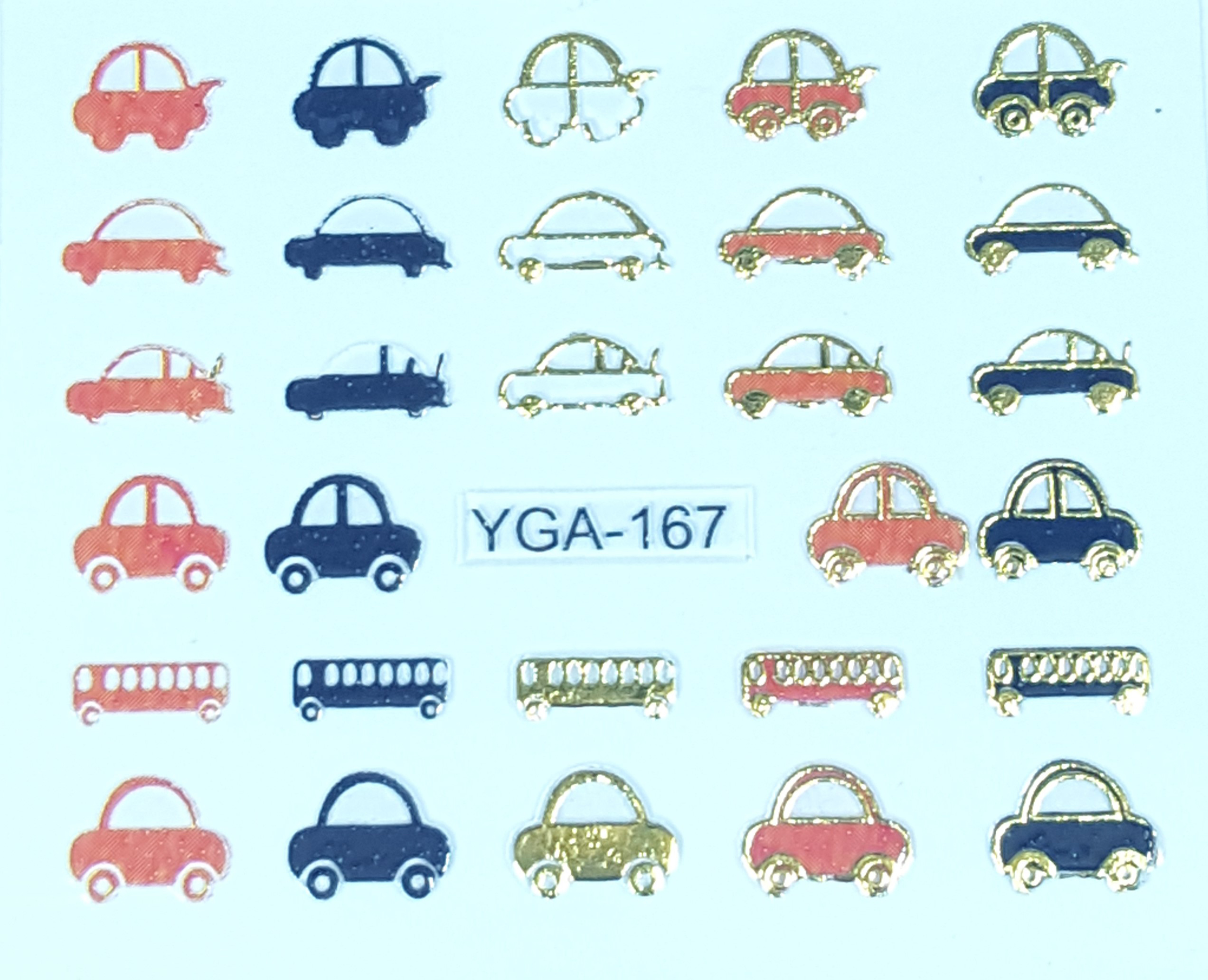 Sticker YGA 167