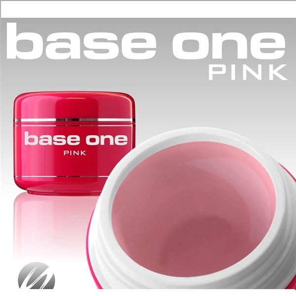 Gel 3 in 1 Base One pink 50g