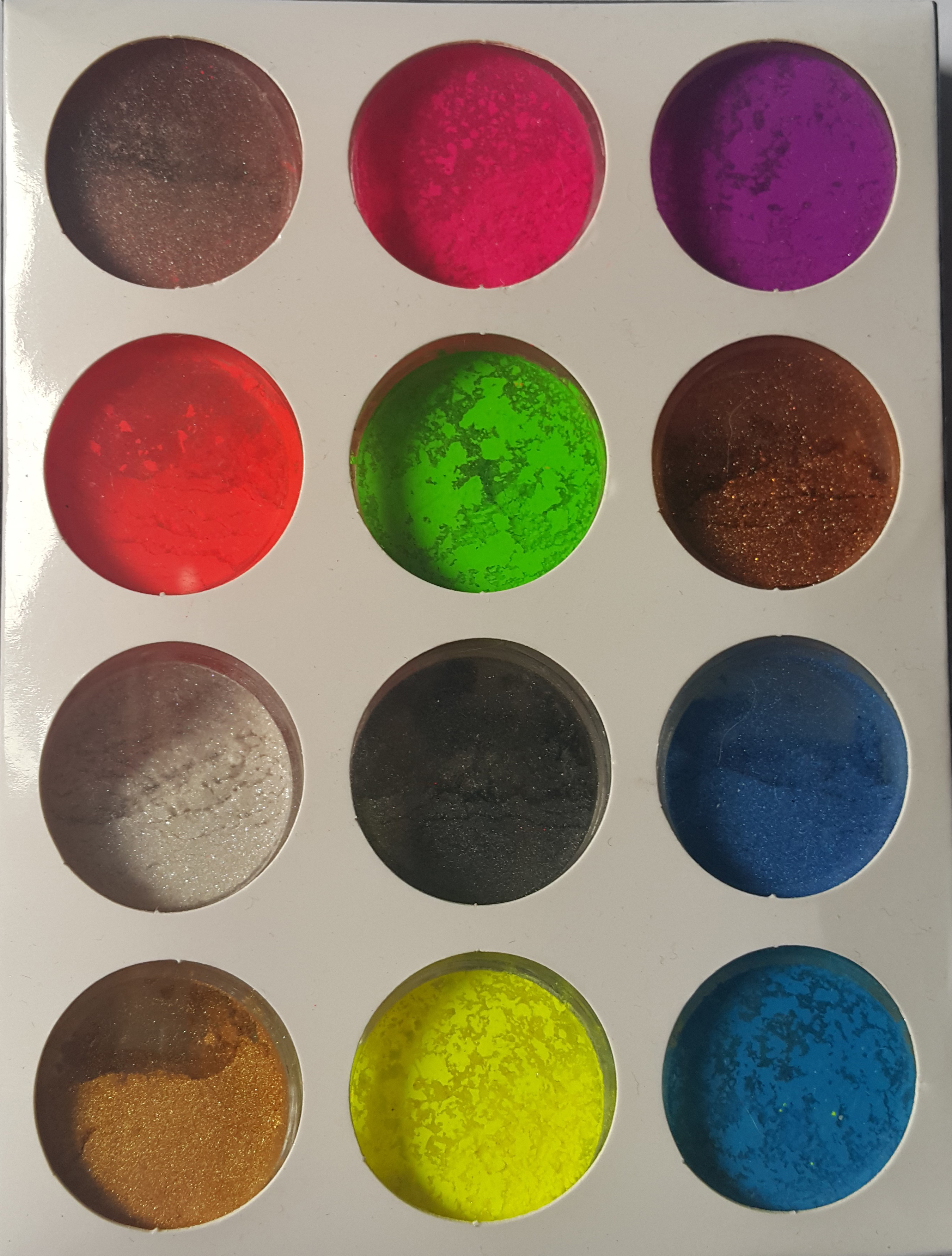 Set 12 pigment gel/acryl New