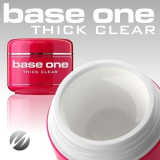 Gel 3 in 1 Base One thick clear 50 g
